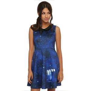 Doctor Who Galaxy Tardis Dress